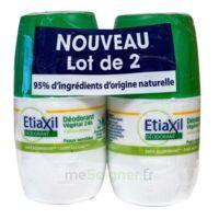 Etiaxil Végétal Déodorant 24h 2roll-on/50ml à OULLINS