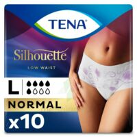 Tena Lady Silhouette Slip Absorbant Blanc Normal Large Paquet/10 à OULLINS