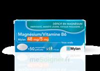 Magnesium/vitamine B6 Mylan 48 Mg/5 Mg, Comprimé Pelliculé à OULLINS