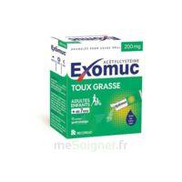 Exomuc 200 Mg, Granulés Pour Usage Oral En Sachet 15 Sachets/2g à OULLINS