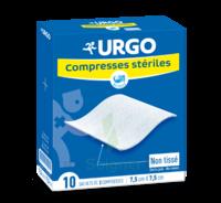 Urgo Compresse Stérile Non Tissée 10x10cm 10 Sachets/2 à OULLINS